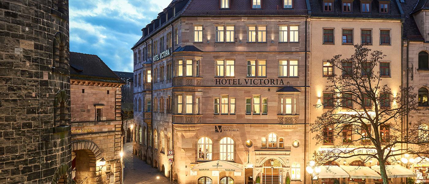 Hotel n rnberg hauptbahnhof altstadt 4 hotel victoria for Nurnberg hotel